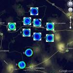 Fényszennyezés térkép (halszemoptikás felvételekkel)